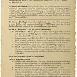 Il disciplinare delle microdistillerie americane