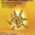 Roma Whisky Festival 2/3 Marzo 2019